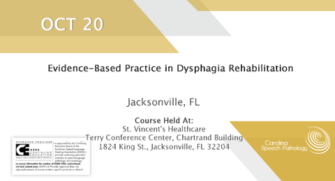 Evidence-Based Practice in Dysphagia Rehabilitation (2018-001)