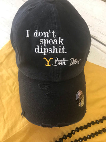 I don't speak hat
