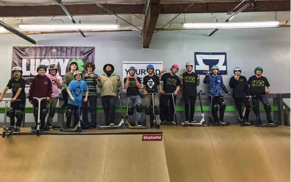 Indoor Scooter Park Pacific Scooter Experience