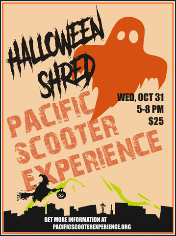 halloween scooter ride pacific scooter experience