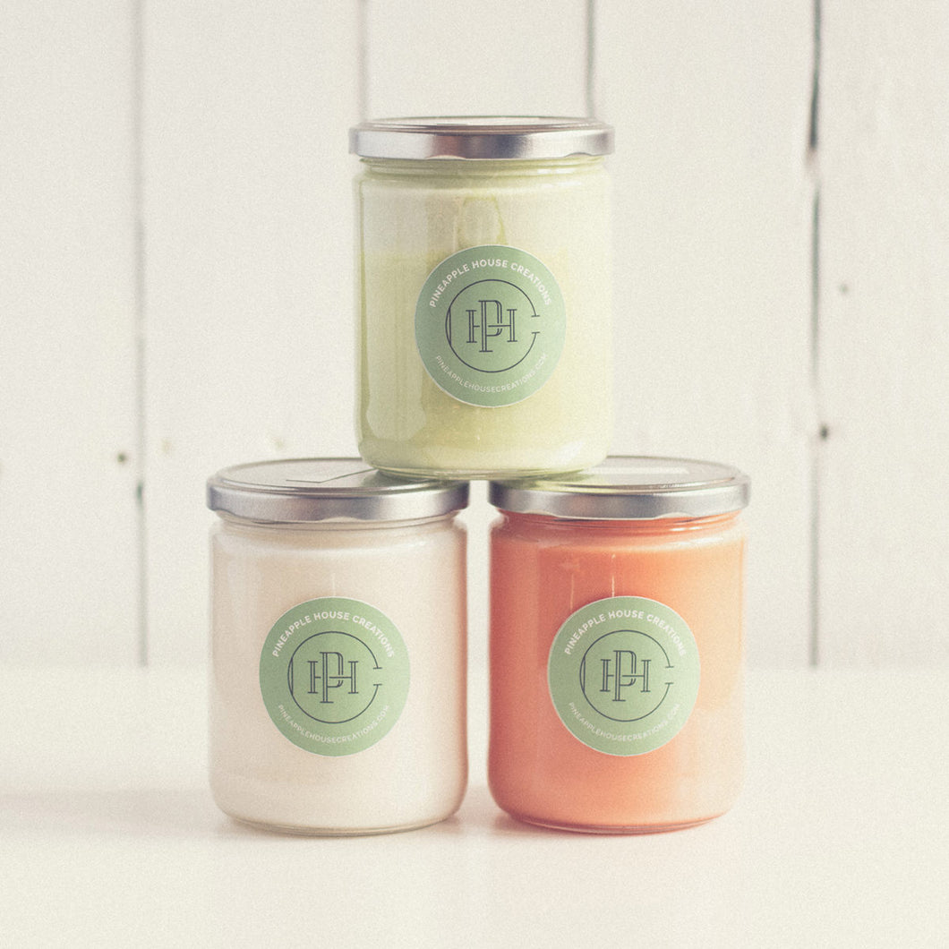 Soy Candle – Large Jar