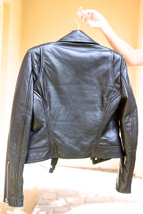 Balenciaga Leather Moto