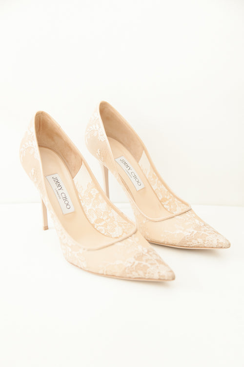 Jimmy Choo Lace Shoes