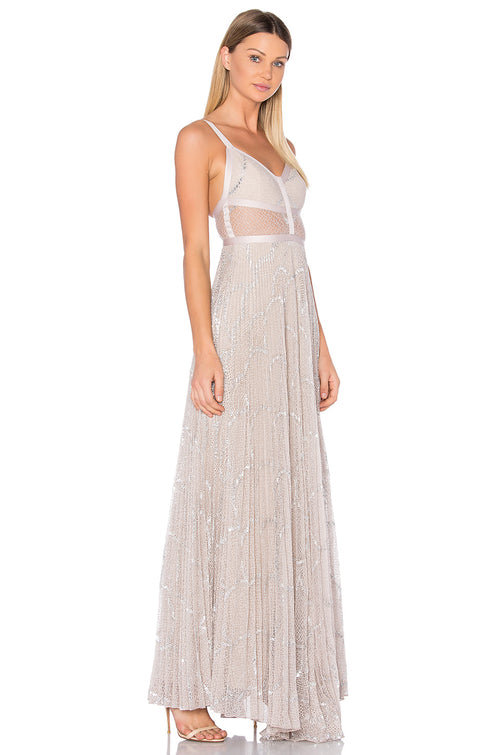 Alexis Silver Blush Gown