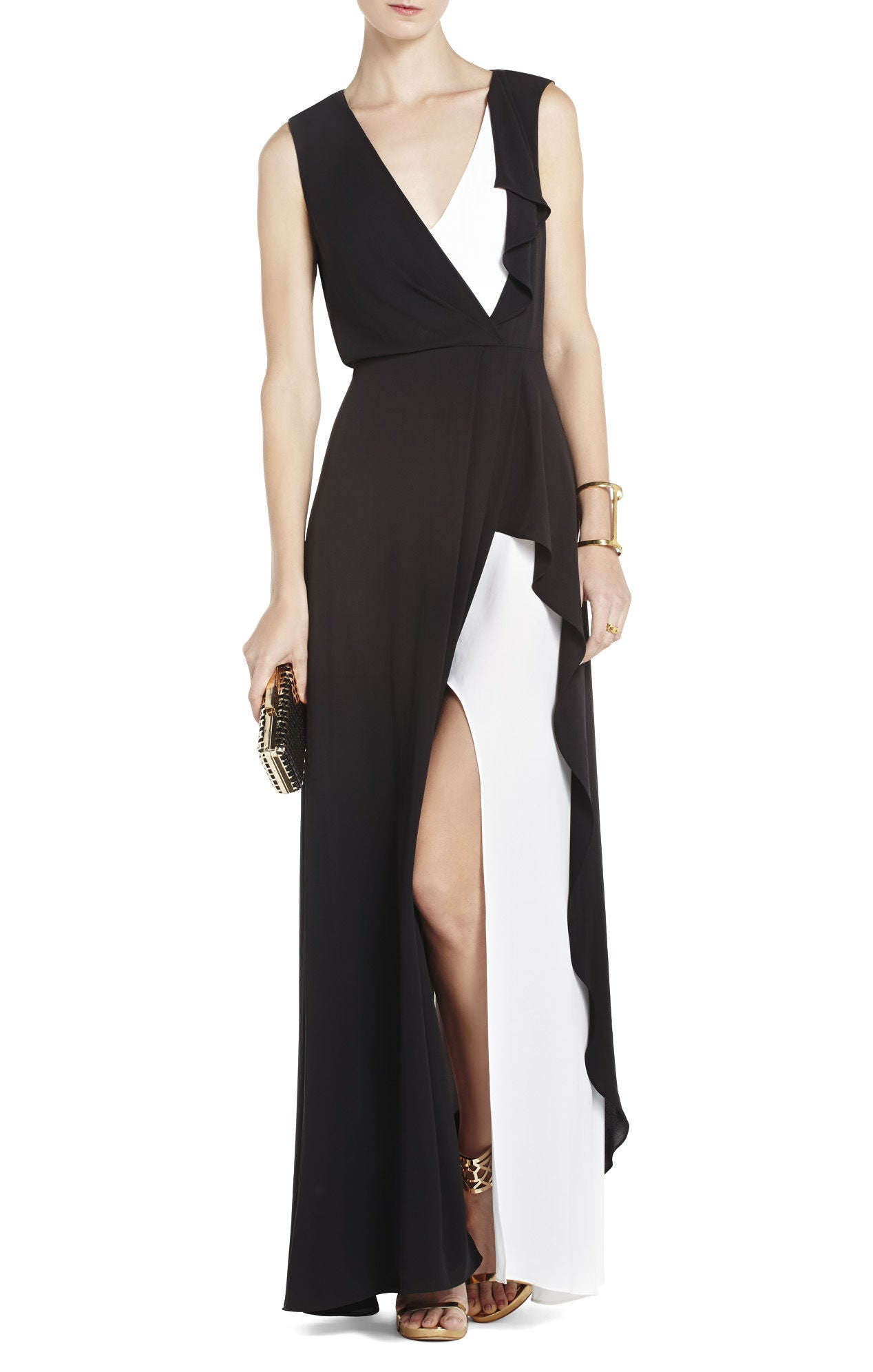 BCBG Black and White Gown – 10 Wooster