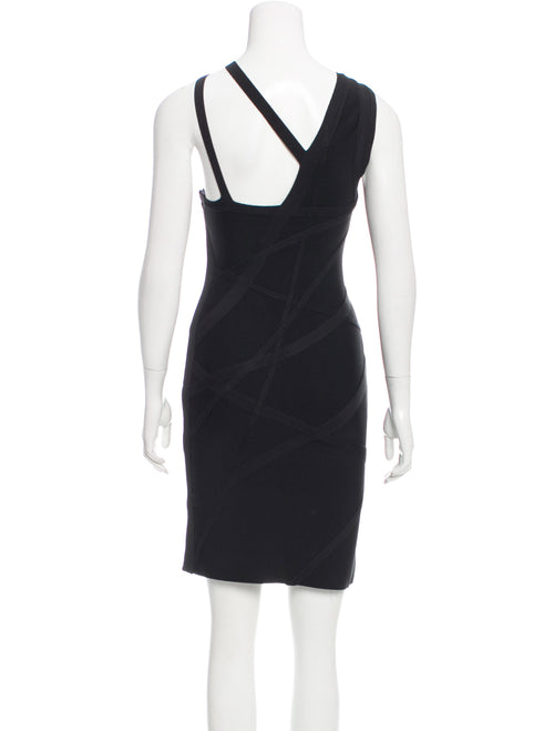 Hervé Leger Black Dress