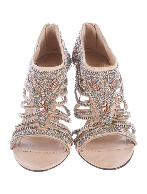 Jean-Michel Cazabat Chain-Link Sandals