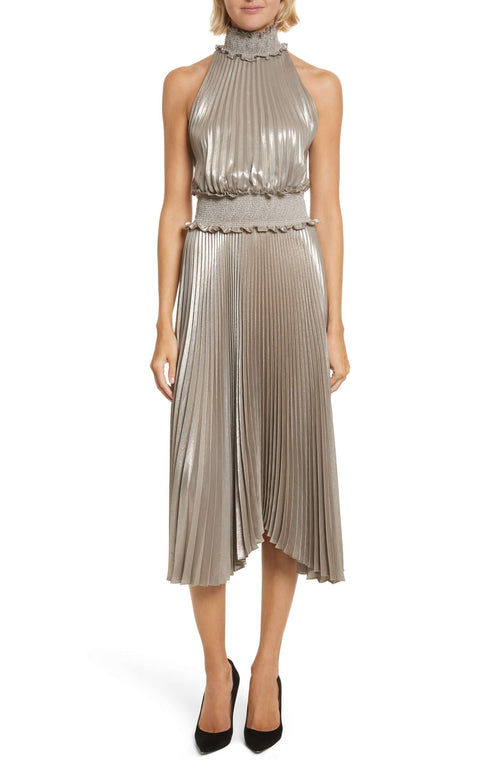 A.L.C Metallic Dress