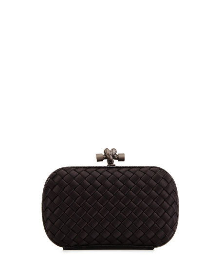 Bottega Veneta Satin Clutch