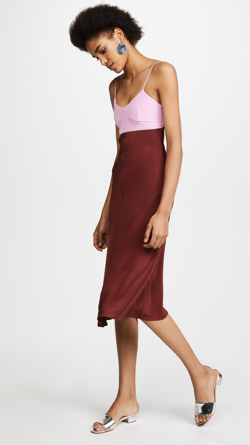 Tibi Slip Dress