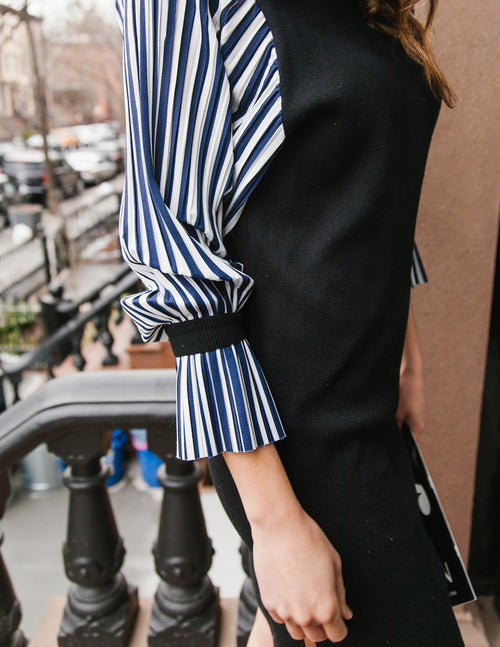 Beulah Style Striped Sleeves