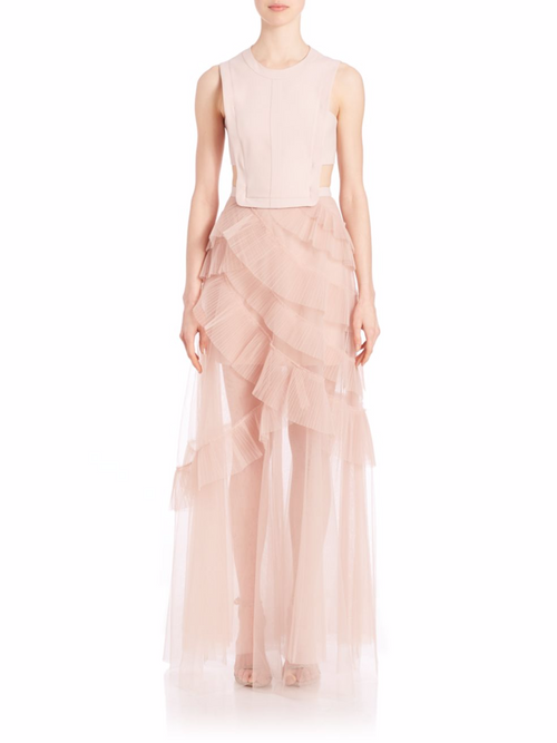 BCBG Tulle Gown
