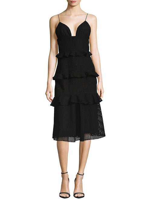 Cushnie et Ochs Tiered dress