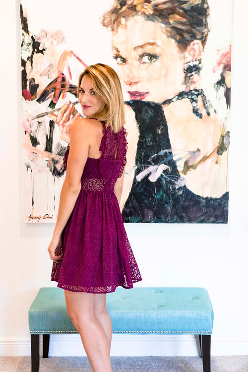 Jay Godfrey Lace Dress