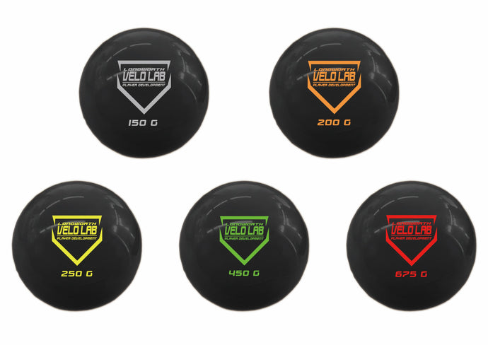 Fastpitch Softball Plyo-Ball Velocity Build Weighted Ball Set - Chad Longworth Velo Shop
