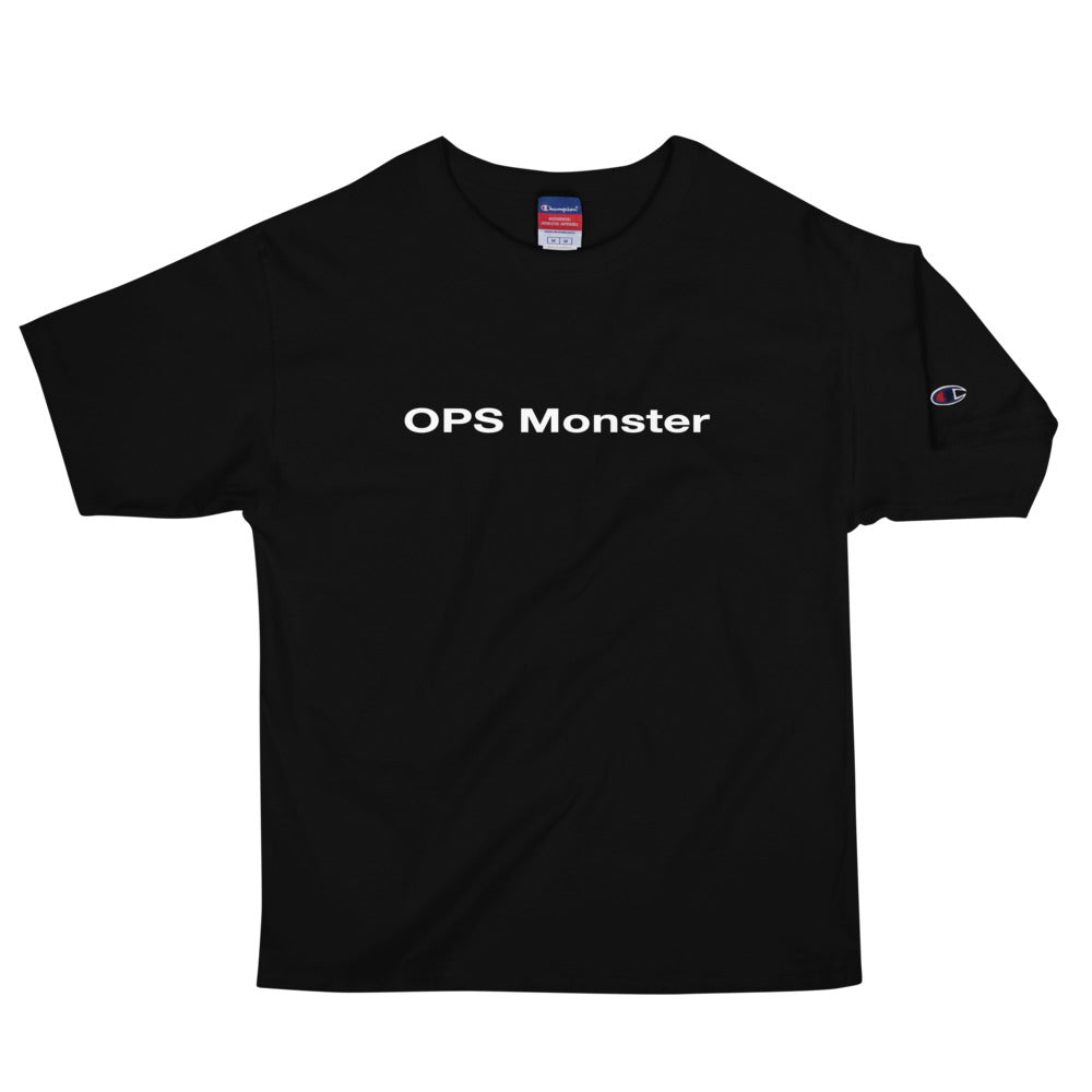 OPS Monster Men's Champion T-Shirt - Chad Longworth Velo Shop