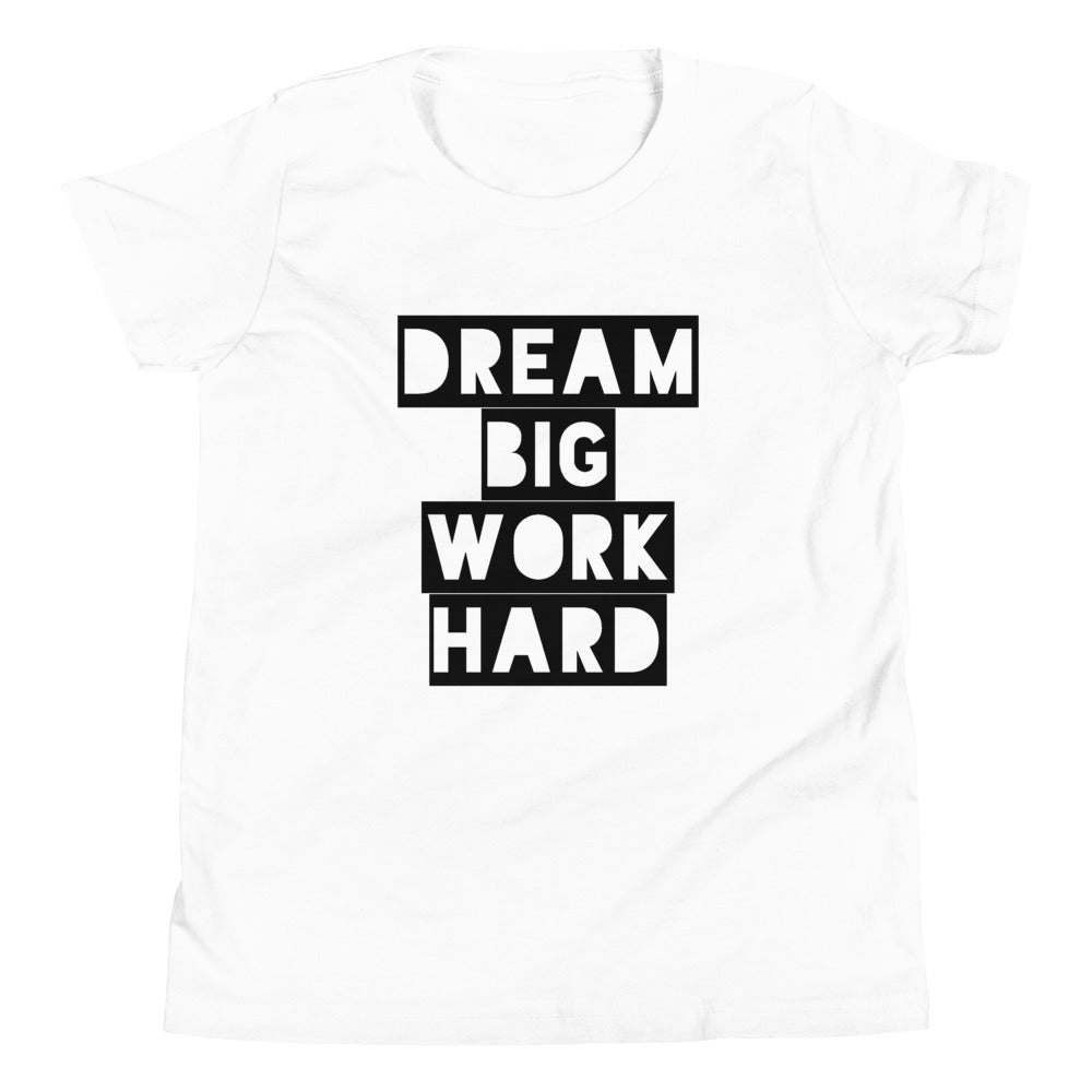 Work Hard Dream Big Youth Premium T - Chad Longworth Velo Shop
