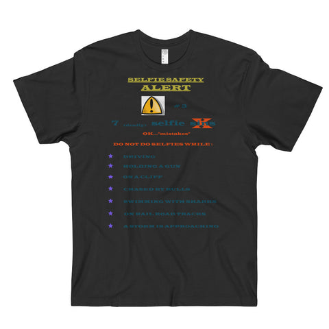SELFIE SAFETY COLLECTION Men's & Women's T-Shirt-SINS