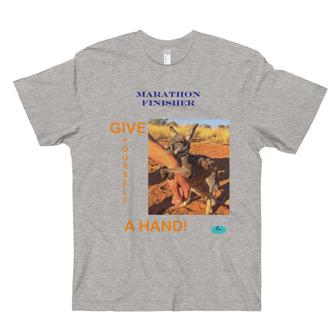 MARATHON COLLECTION Men's & Women's T-Shirt-Give a Hand
