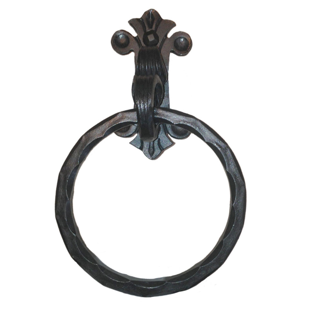 Eagle Mountain Wrought Iron Towel Ring
