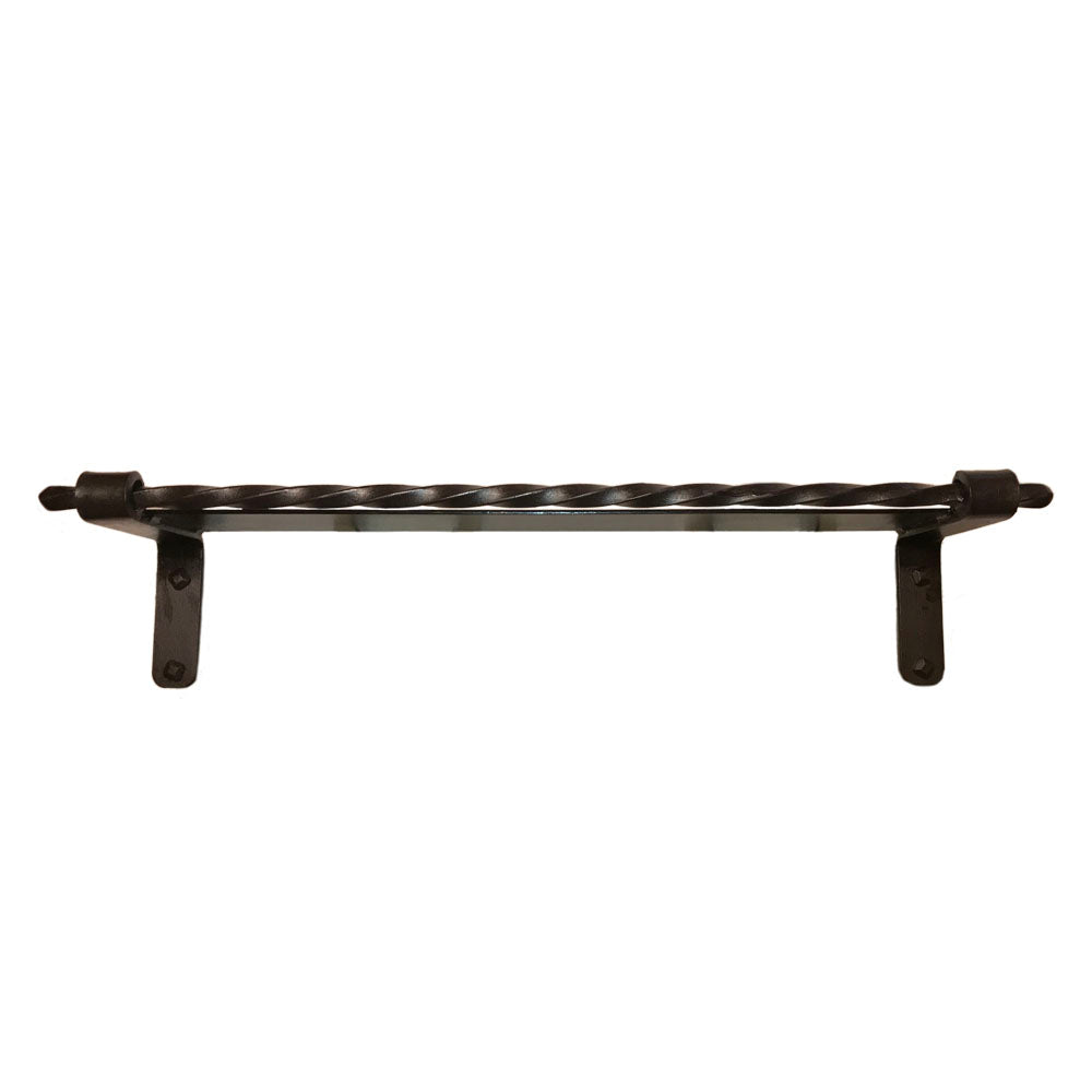 Jerome Twisted Wrought Iron Shelf
