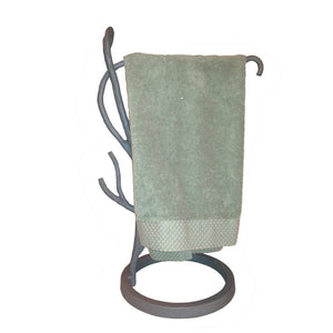 Willow Tree Branch Countertop Towel Stand Right