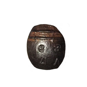 Cobre Railroad Spike Drawer Pull, Knob