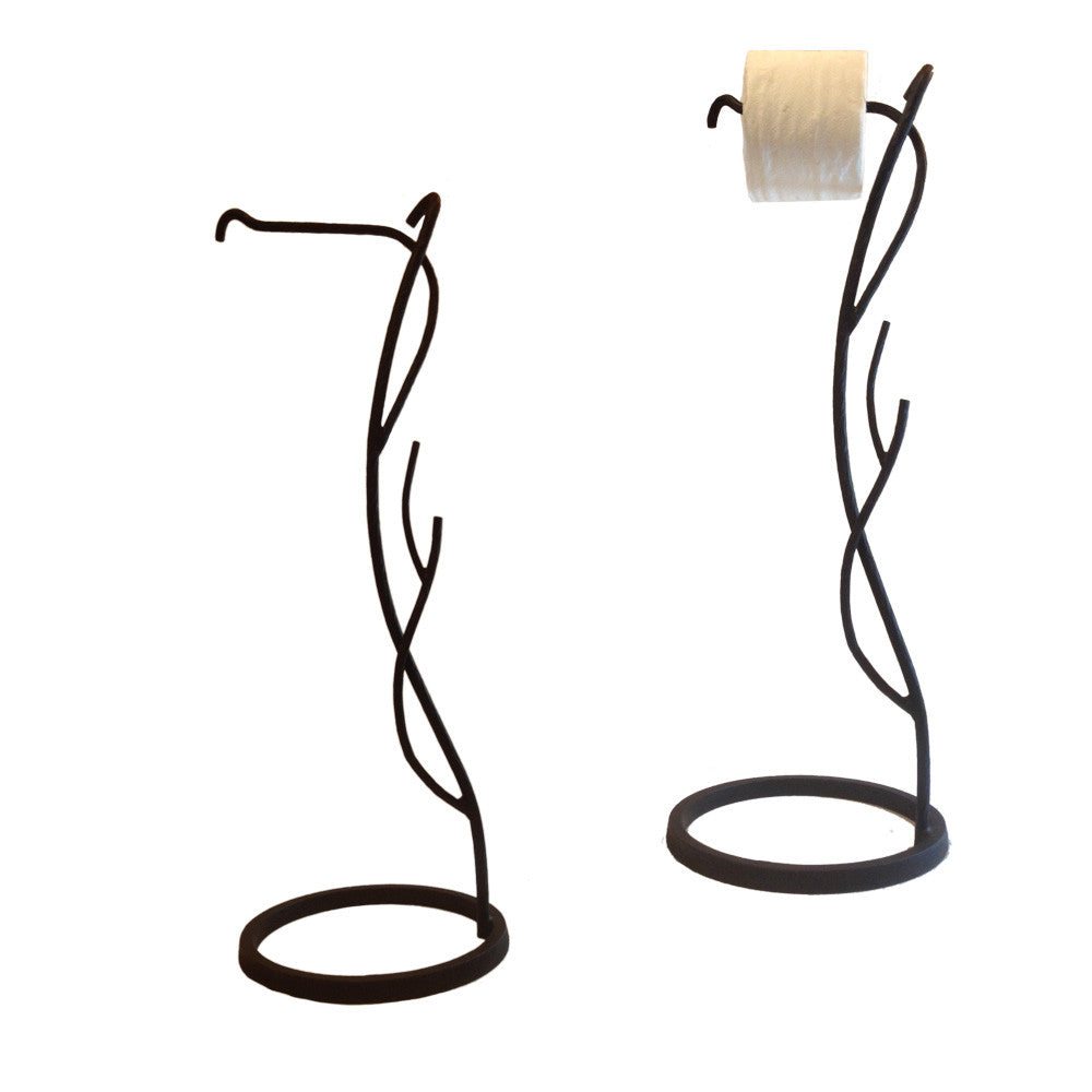 Willow Tree Branch Toilet Paper Holder Floor Standing
