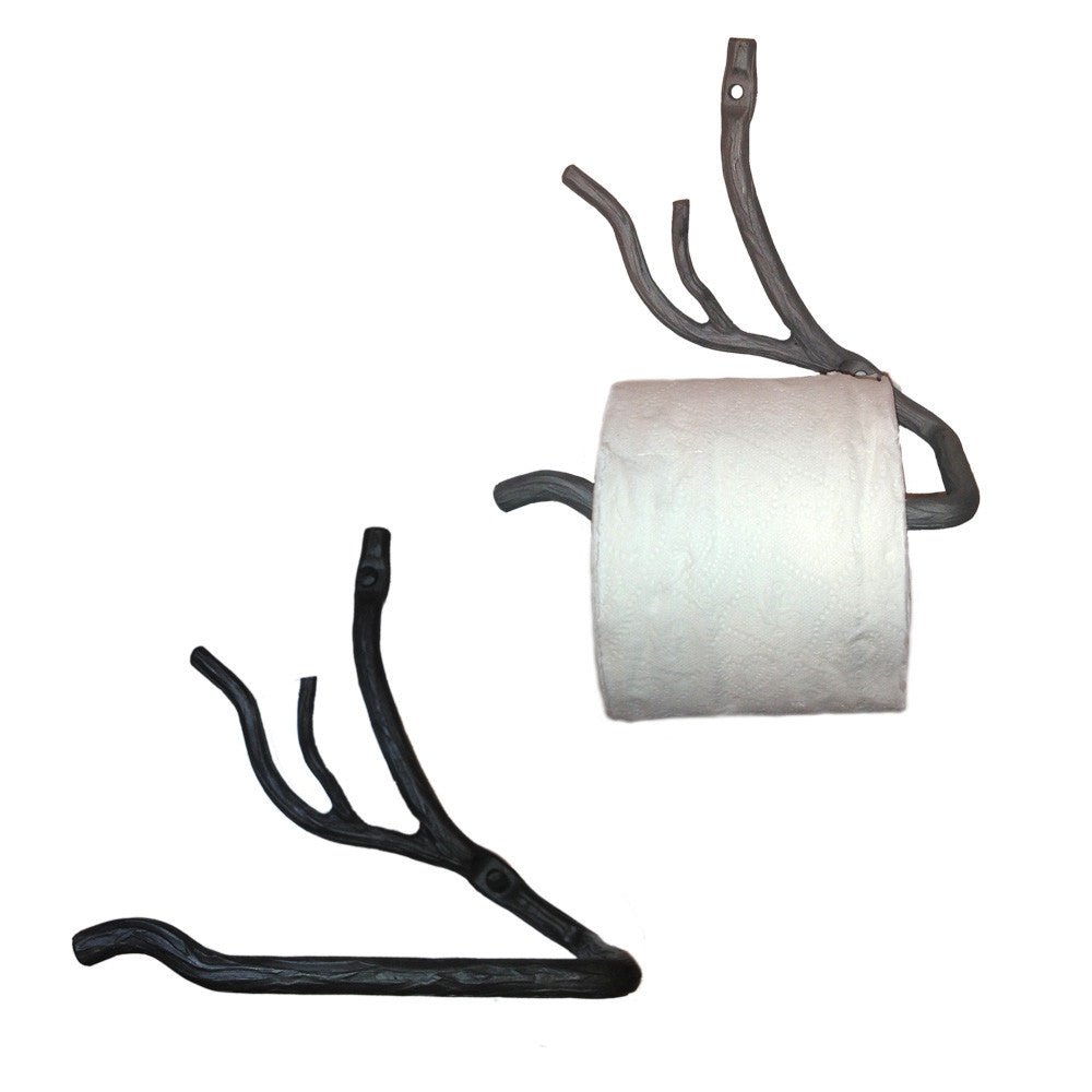 Willow Tree Branch Toilet Paper Holder Left