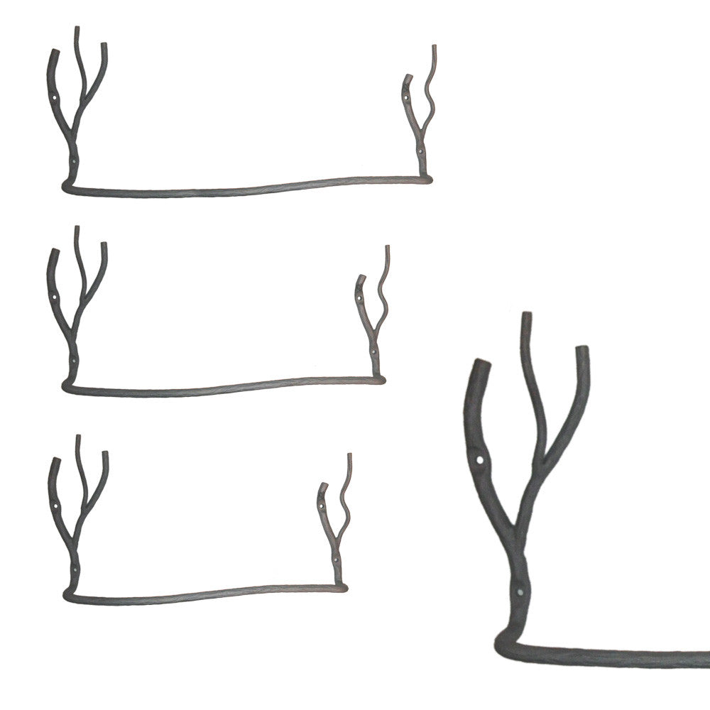 Willow Tree Branch Towel Bar Vertical Branches