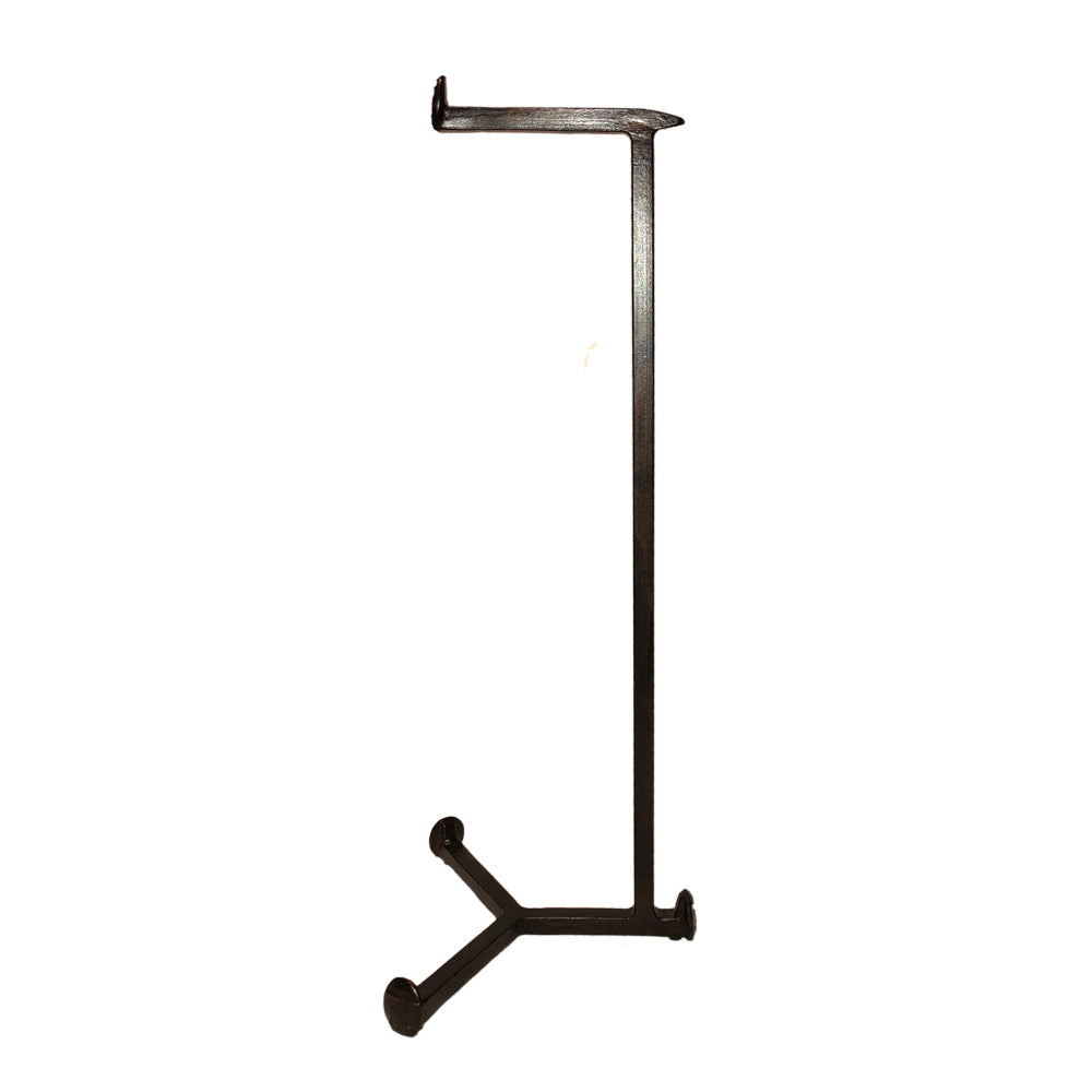 Cobre Railroad Spike Toilet Paper Holder Floor Standing