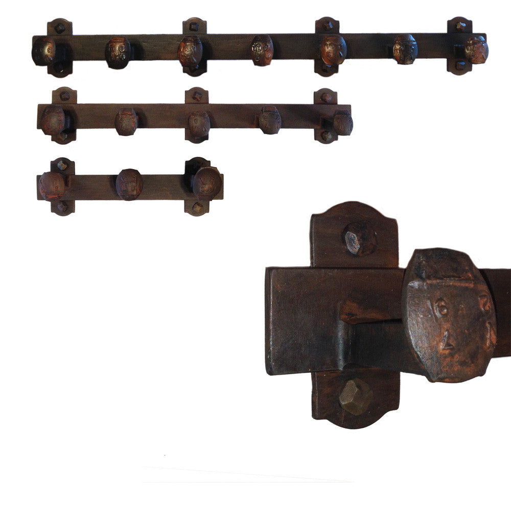 Cobre Railroad Spike Coat Racks