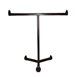 Cobre Railroad Spike Towel Stand, Countertop Double