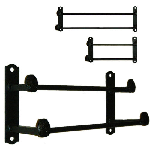 Cobre Railroad Spike Double Rail Towel Bars