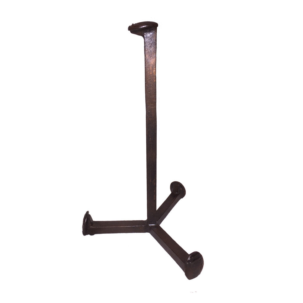 Cobre Railroad Spike Paper Towel Holder Countertop