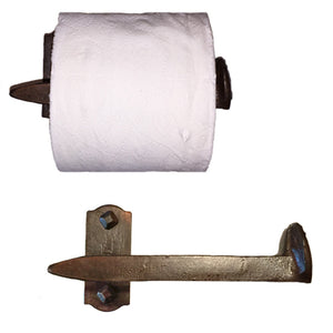 Cobre Railroad Spike Toilet Paper Holder Right