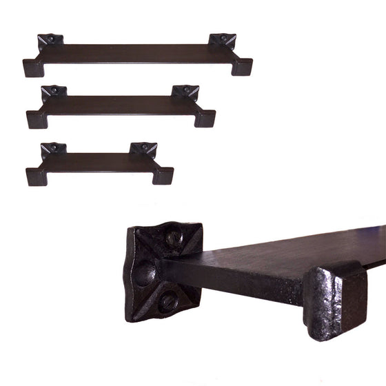 Adobe Wrought Iron Shelf