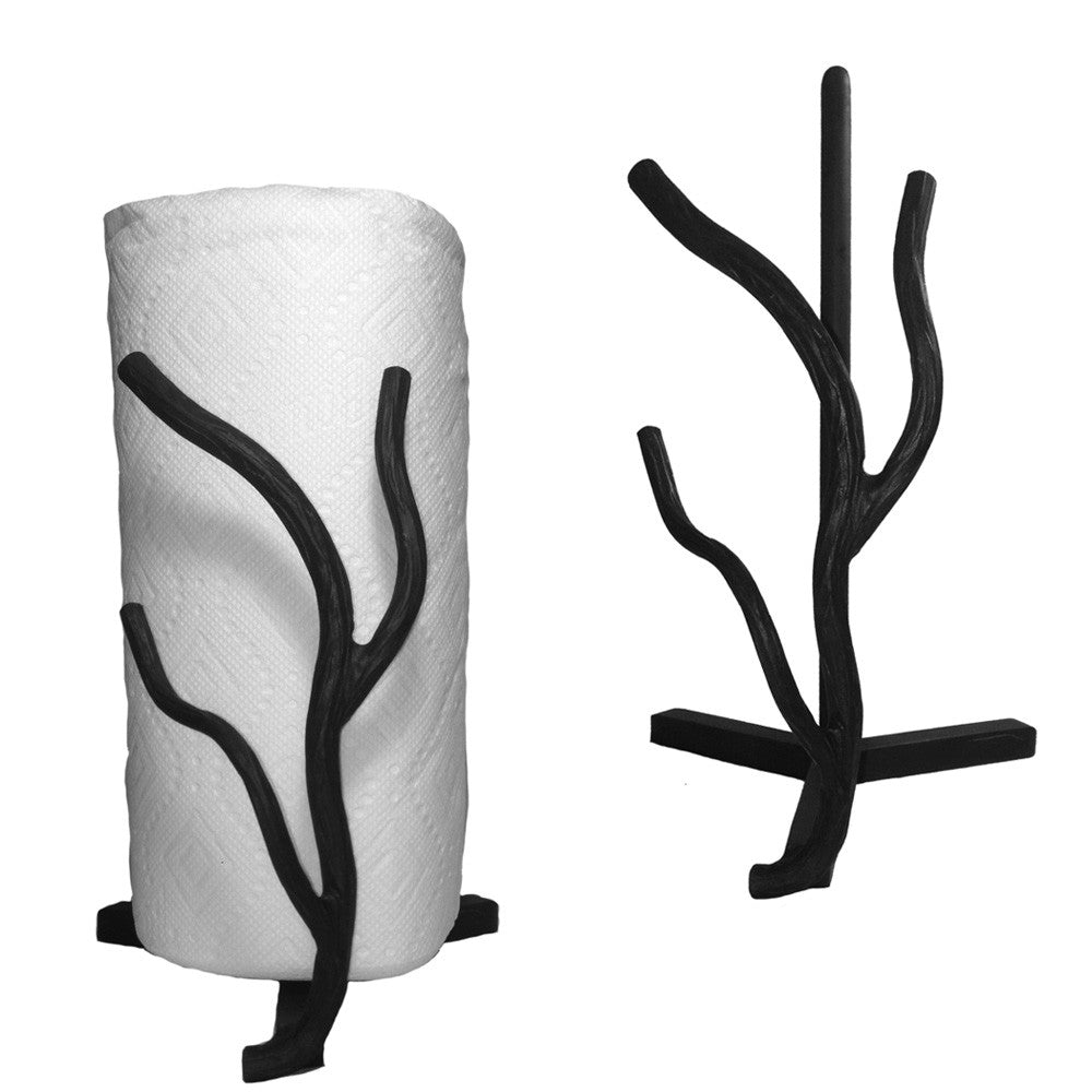 Willow Tree Branch Paper Towel Holder Countertop High