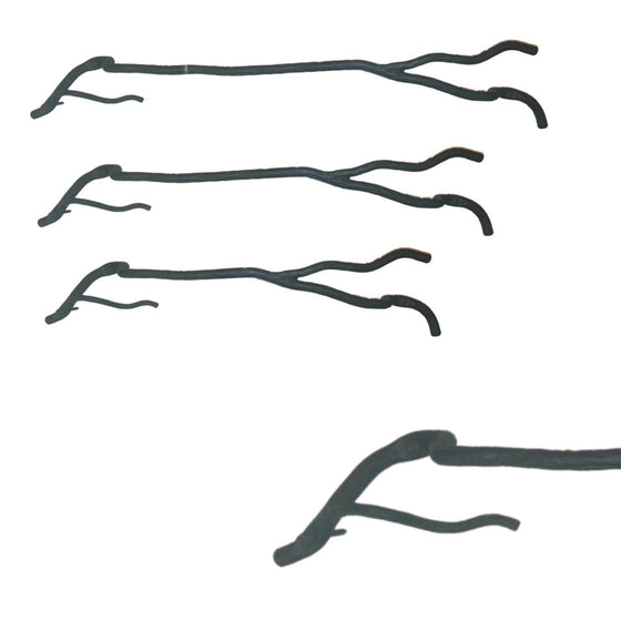 Willow Tree Branch Towel Bar Horizontal Right
