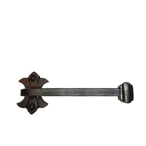 Cuervo Wrought Iron Towel Bar Short, Reversible