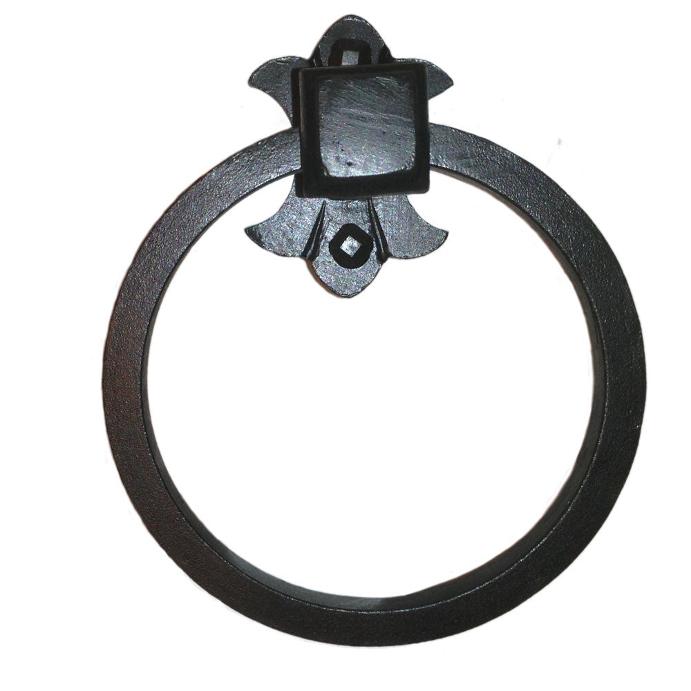 Cuervo Wrought Iron Towel Ring