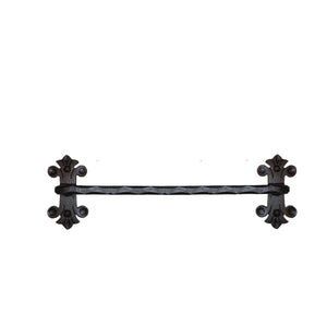 Eagle Mountain Wrought Iron Towel Bars