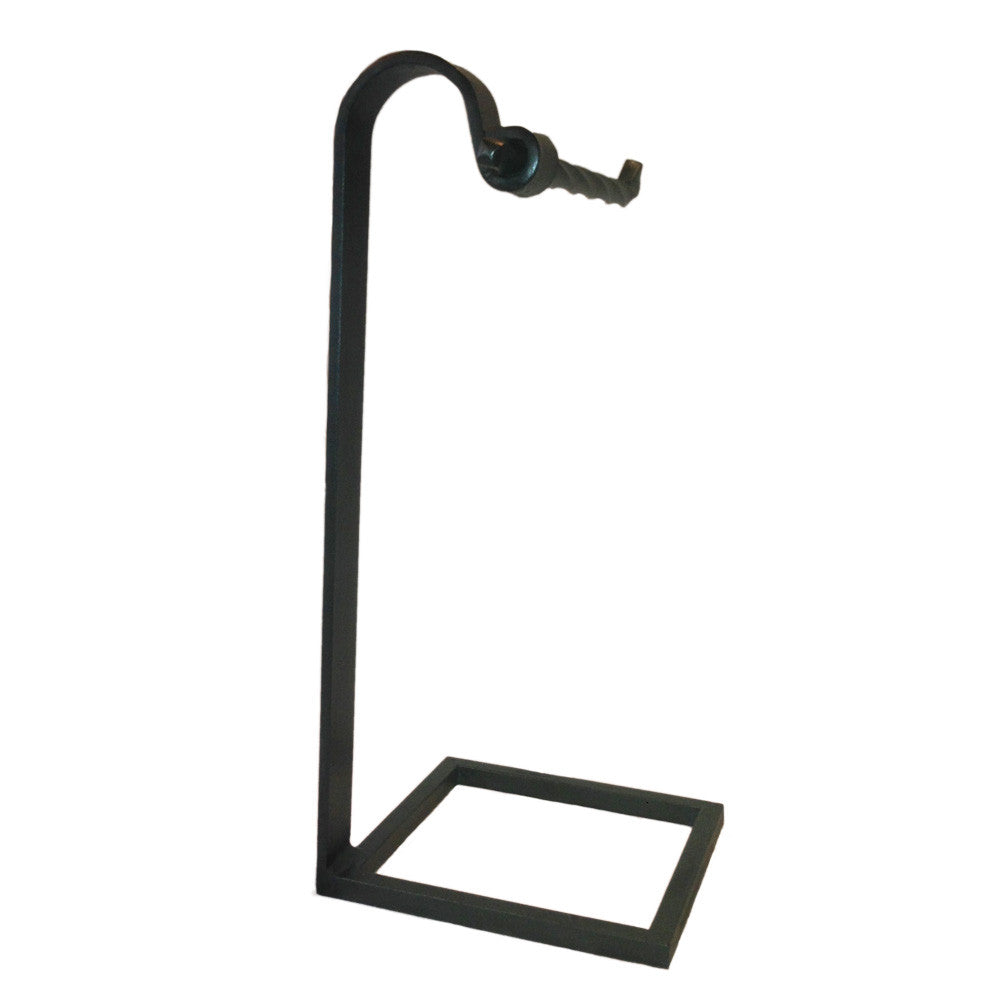 Jerome Twisted Iron Countertop Towel Stand Right
