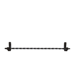 Jerome Twisted Wrought Iron Towel Bars