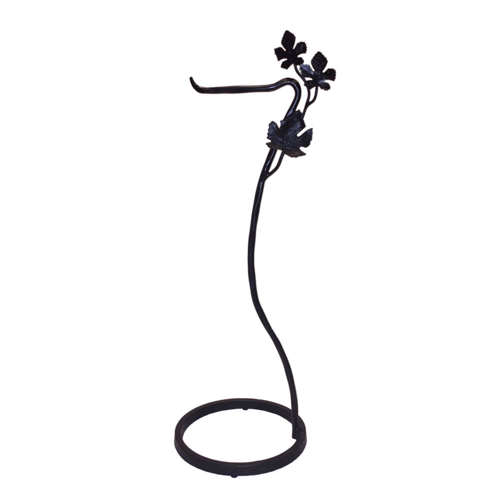 Lajitas Grape Leaf Toilet Paper Holder Floor Standing