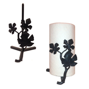 Lajitas Grape Leaf Paper Towel Holder Countertop