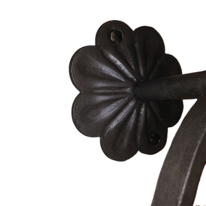 Marietta Wrought Iron Towel Ring Closed