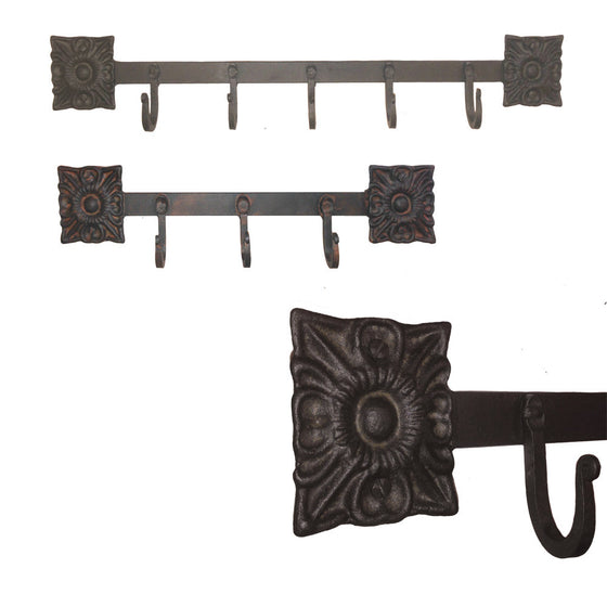 Santa Rita Wrought Iron Coat Racks