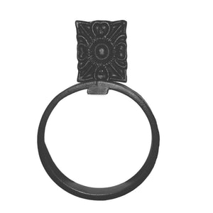 Santa Rita Wrought Iron Towel Ring
