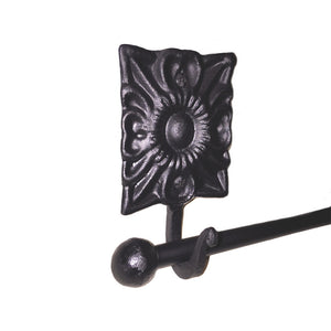 Santa Rita Wrought Iron Tapestry & Quilt Rod